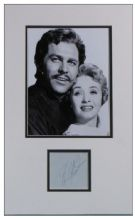 Howard Keel Autograph Signed Display